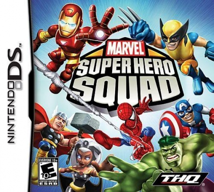 Marvel Super Hero Squad - Nintendo DS (NDS) rom download